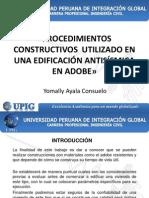 Procedimientos Constructivos Utilizado en Una Edificación Antisísmica