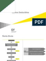Gastos Deducibles - Ernst & Young 2013