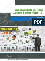 Fundamentals in Real Estate Series Part - 2 Marketing