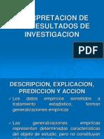 Interpretacion de Los Resultados de Investigacion