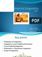 Unit 1 - 01 Introduction to Linguistics