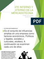 Ambiente Interno y Externo de La Mercadotecnia