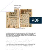 Coincidencias Biblia Egipcios