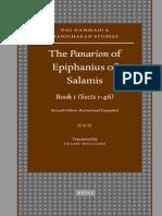 Epifanio de Salamina Libro 1
