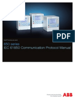 1mrk511242-Uen - En Communication Protocol Manual Iec 61850 650 Series Iec