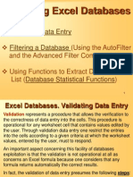 CURS7 - Excel Databases