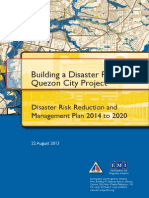 QC Disaster Risk Reduction and Management Plan 2014 to 2020