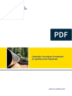 Cathodic Corrosion Protection of Earthburried Pipelines