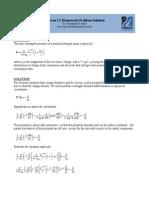 Jackson 1 5 Homework Solution