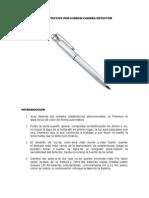 Manual Auto Detective Pen en Español