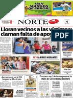 Periódico Norte edición del día 4 de julio de 2014