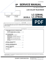 Sharp Lc32_37m44l Service Manual