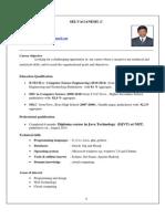 Selvaganesh Resume