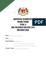 Additional Mathematics Project Work 2014 (Task 2)