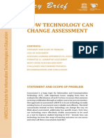 How Technology Can Change Assessment