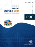 UN E-Government Readiness Survey_2014