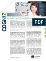 An Agile Twist Fixed Bid Pricing