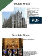 Prezentare Milano