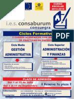 Cartel Administración y Gestión 2014