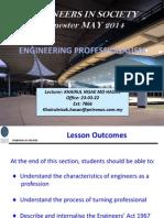 EIS - Profesionalism MAY2014