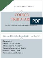 Codigo Tributario Articulos 173-188