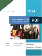 Situacion Actual Del Emleo en El Peru Informe Final