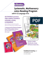 Go Phonics Lesson Samples