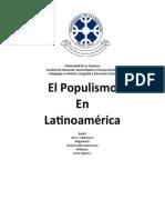 Populismo en Latinoamerica