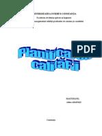 Planificarea calității