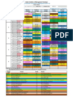 Time Table-Term IV PGP 2013-15 Pre Mid Term -13.06.2014