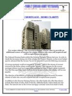 Reverse Mortgage Scheme- More Clarity