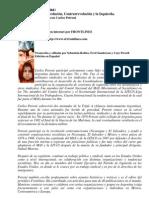 Carlos Petroni - Argentina, Crisis, Revolución, Contrarrevolución E Izquierda