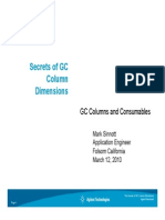 Secrets of GC Column Dimensions 030910