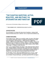 Pashtun Question Myths Realities and Militancy Afghanistan and Pakistan 20140414 1