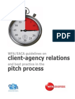 WFA EACA Pitch Guidelines