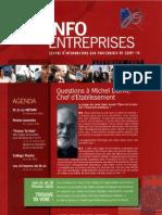 Info Entreprise Novembre 2009