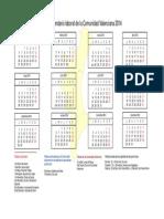 Calendario Laboral2014 Comunidad Valenciana UGT