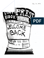 The Stony Brook Press - Volume 14, Issue 1