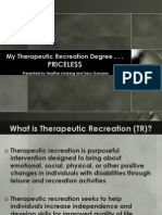 Therapeutic Recreation Disability For_students