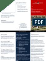 Flyer Doctor Philosophy