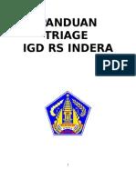 Panduan Triage IGD RS Indera TERBARU
