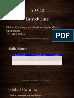server pdf active 2008 directory 70-640 windows