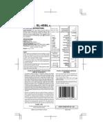 Casio Sl-450l Manual
