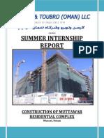 Internship Report Part 1