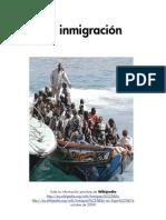 La inmigración, en el mundo y en España