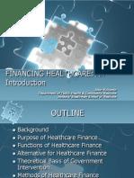 Financing Healthcare 2008