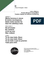 christ is enough - portuguese