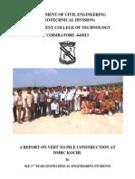 IV Report 2014 Kochi by geotech