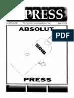 The Stony Brook Press - Volume 14, Issue 12