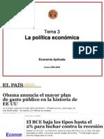 Tema 3 Buenaza Politica Monetaria